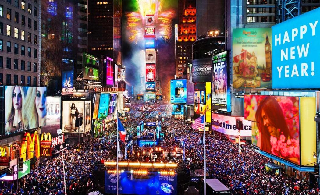 Réveillon em Nova Iorque… New York, New York..